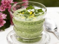 Chilled Arugula Bisque recipe