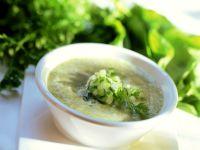 Cold Potato Cucumber Soup recipe