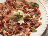 Cold Roast Pork with Tomato Salad recipe