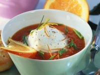 Cold Tomato Orange Soup recipe