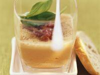 Cold Tomato Soup with Black Forest Ham recipe