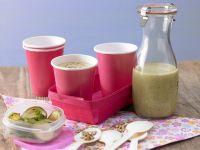 Cold Zucchini Soup with Yogurt recipe