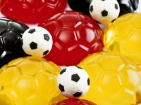 Colorful Football Fruit Jello recipe