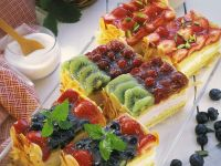 Colorful Fruit Cake recipe