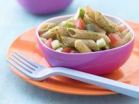 Colorful Pesto Pasta Salad recipe