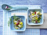 Colorful Potato-Herring Salad recipe
