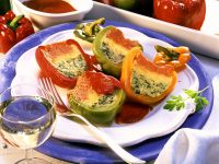 Colorful Stuffed Peppers recipe