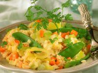 Colorful Vegetable Risotto recipe
