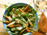 Colorful Vegetables with Herb Dressing recipe