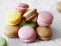 Coloured Macarons recipe
