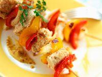 Colourful Chicken Brochettes recipe