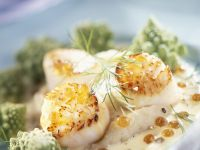 Coquilles St Jacques with Root Veg Mash recipe