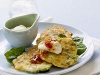 Corn Asparagus Fritters recipe