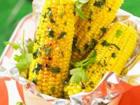 Corn on the Cob with Herb Butter recipe