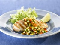 Corn Salad with Healthy Chicken recipe