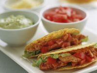 Corn Tacos with Chicken recipe