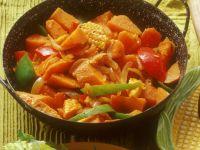 Corn with Sweet Potatoes recipe