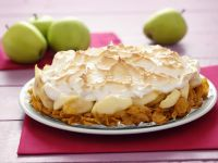 Cornflakes with Apples and Meringue recipe