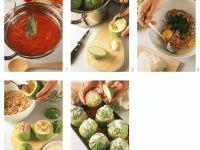 Corsican Style Stuffed Squash recipe