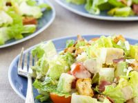 Cos Salad with Creamy Dressing recipe