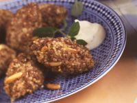 Coucous Meatballs with Yogurt Dip recipe