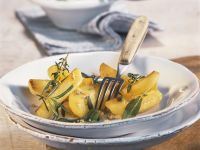 Country Potatoes with Herbs recipe