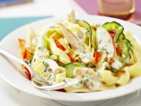 Courgette and Chicken Pasta