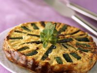 Courgette and Feta Turnover Tart recipe
