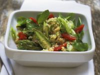 Couscous and Asparagus Salad with Mint recipe
