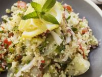 Couscous, Cucumber and Mint Salad recipe