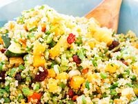 Fruity Couscous-Quinoa Salad with Mint recipe