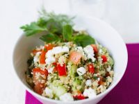 Couscous Salad with Feta Cheese recipe