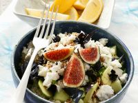 Couscous Salad with Figs and Avocado recipe