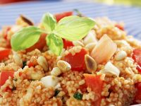 Couscous Salad with Pine Nuts and Tomatoes recipe