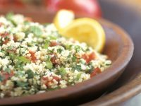 Couscous Salad with Tomatoes and Herbs recipe