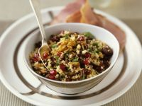Couscous Salad with Walnuts and Fruit recipe