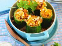 Couscous-Stuffed Zucchini