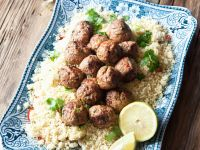 Couscous with Lamb