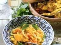 Couscous with Seafood recipe