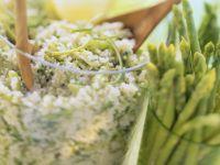 Couscous with Thai Asparagus recipe