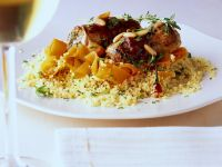 Couscous with Veal Rolls