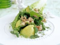 Crab and Avocado Salad with Cress Dressing recipe