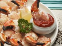 Crab Claws with Tomato Sauce recipe