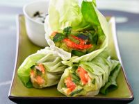 Healthy Salad Wraps recipe
