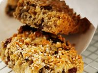 Maple and Cranberry Granola Bars recipe
