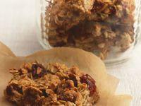 Cranberry, Orange and Fig Flapjacks recipe