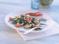 Crayfish and Bean Salad recipe