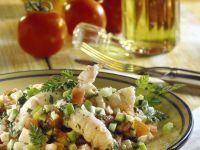 Crayfish and Vegetable Salad recipe