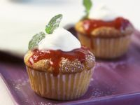 Cream and Berry Muffins recipe