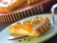 Cream Cheese and Apricot Tart